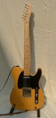 USA Fender Telecaster 1952 re-issue as used on the Dosch album, Money to Burn